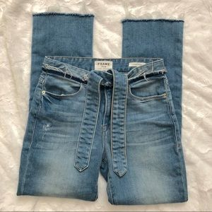 Frame Le High Straight Hannington Jean Size 25